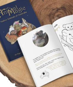 Colouring Book - Australian Animals