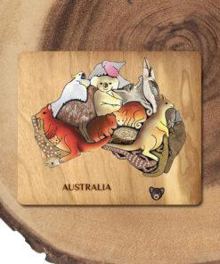 Australian Animal Educational Puzzle