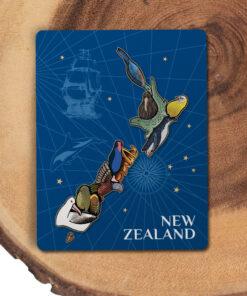 New Zealand Animal Educational Puzzle